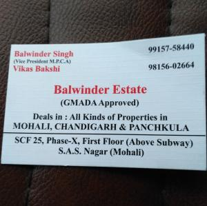 Balwinder Estate - Mohali - Property Dealer