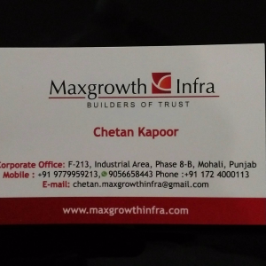 Maxgrowth Infra - Mohali - Builder