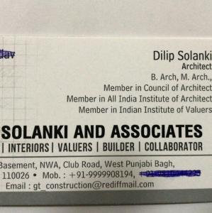 Dilip Solanki  Associates - New Delhi - Architect