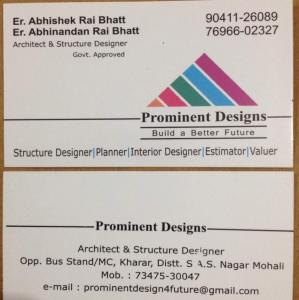 Prominent Designs - Kharar - Architect