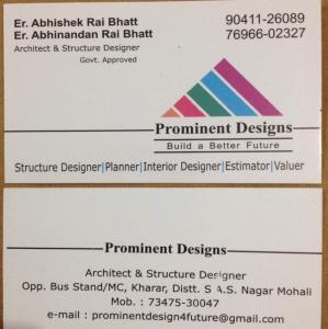 Prominent Designs - Kharar - Architect