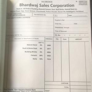 Bhardwaj Sales Corporation - Faridabad - Building Material Supplier