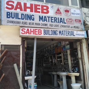 Saheb Building Material - Zirakpur - Sanitary Supplier