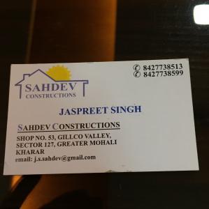 Sahdev Constructions - Kharar - Builder