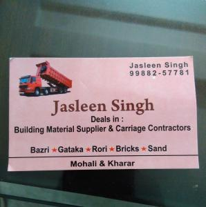 Jasleen Singh - Mohali - Building Material Supplier