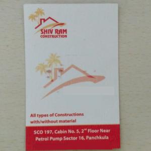 Shiv Ram Construction - Panchkula - Contractor