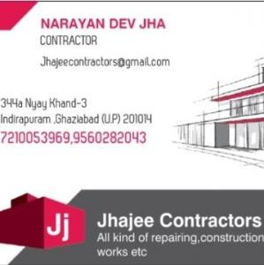 Naryan Dev Jha - Ghaziabad - Contractor