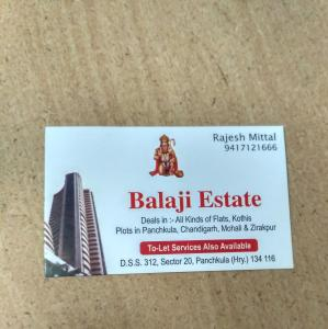 Balaji Estate - Panchkula - Property Dealer