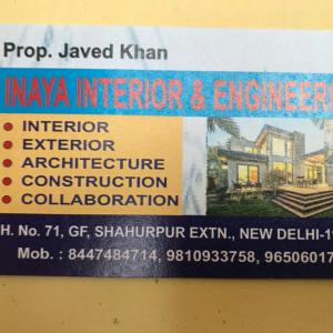 Inaya Interior And Engineering - Delhi - Architect