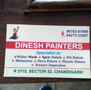 Dinesh Painter - Chandigarh - Painter
