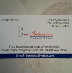 Bee Interiors - Bangalore - Glass Supplier
