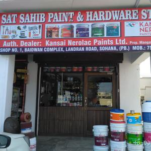 Sat Sahib Paint And Hardware Store - Mohali - Paint Supplier