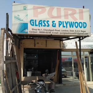 Puri Glass And Plywood - Chandigarh - Glass Supplier