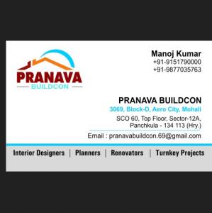 Pranava - Mohali - Builder