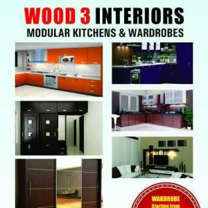 Wood 3 Interiors - Bangalore - Contractor