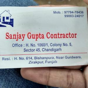 Sanjay Gupta - Zirakpur - Contractor