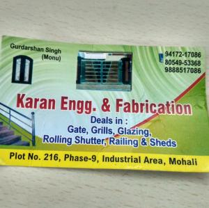 Karan Engineering And Fabrication - Mohali - Building Material Supplier