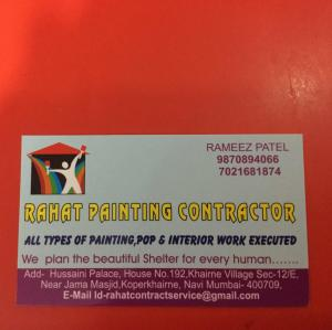 Rahat Painting Contractor - Mumbai - Painter