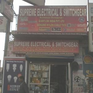 Supreme Electrical And Switchgear - Gurugram - Electrical Supplier