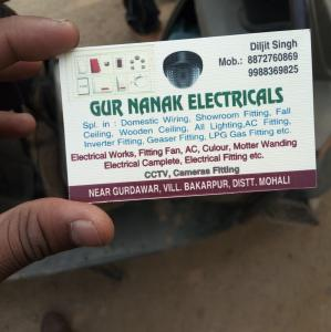 Gurnanak electcial  - Mohali - Electrical Supplier