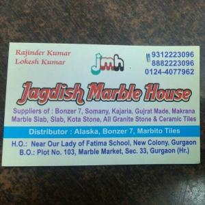 Jagdish Marble House - Gurgaon - Marble Supplier
