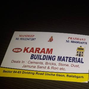 Karam Building Material - Faridabad - Building Material Supplier