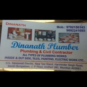 Dinanath Plumbers - Mumbai - Plumber
