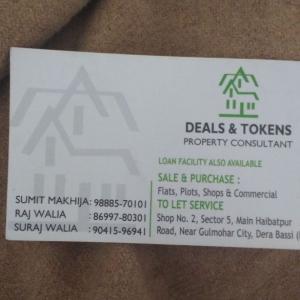 DEALS  TOKENS  PROPERTY CONSULTANT - Dera Bassi - Property Dealer