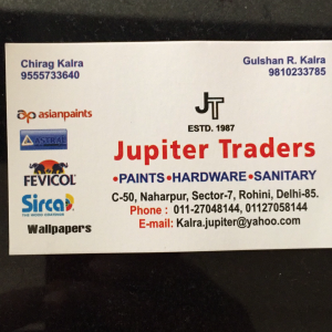 Chirag Kalra - Delhi - Paint Supplier