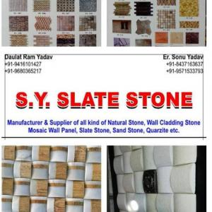 S Y Slate Stone - Alwar - Building Material Supplier