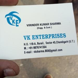VK Enterprises - Mohali - Contractor