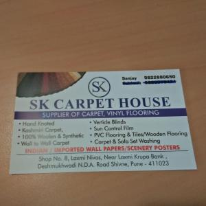 SK Carpet House - Pune - Architect