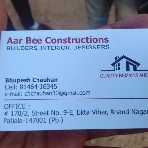 Aar Bee Constructions - Patiala - Builder