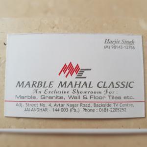 Mehak Singh - Jalandhar - Marble Supplier
