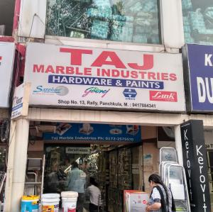 Taj Marble Industries - Panchkula - Paint Supplier