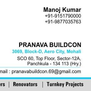 Pranava - Panchkula - Contractor