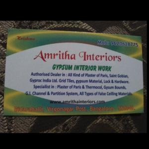 Amritha Interiors - Bangalore - Building Material Supplier