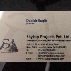 Skytop Projects Private Limited - Delhi - Architect