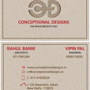Conceptual Designs  - Delhi - Architect