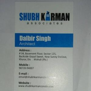 Shubh Karman Associates - Kharar - Architect