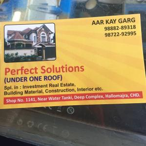 Perfect Solutions - Chandigarh - Building Material Supplier
