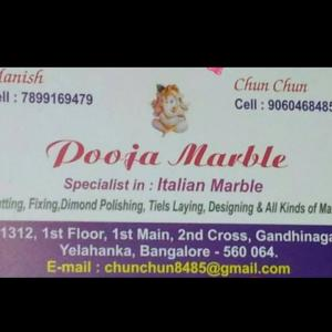 Pooja Marble - Bangalore - Marble Supplier